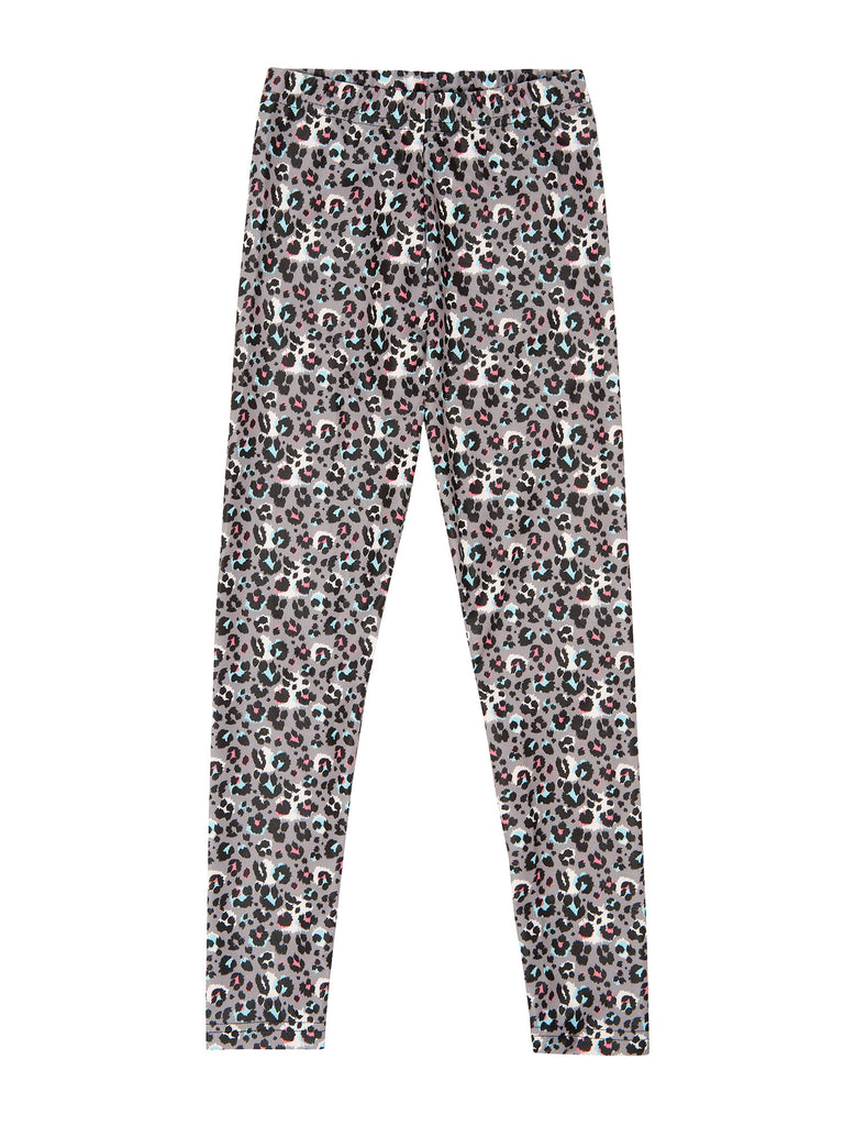 multi color leopard legging for girl miss flamingo kids
