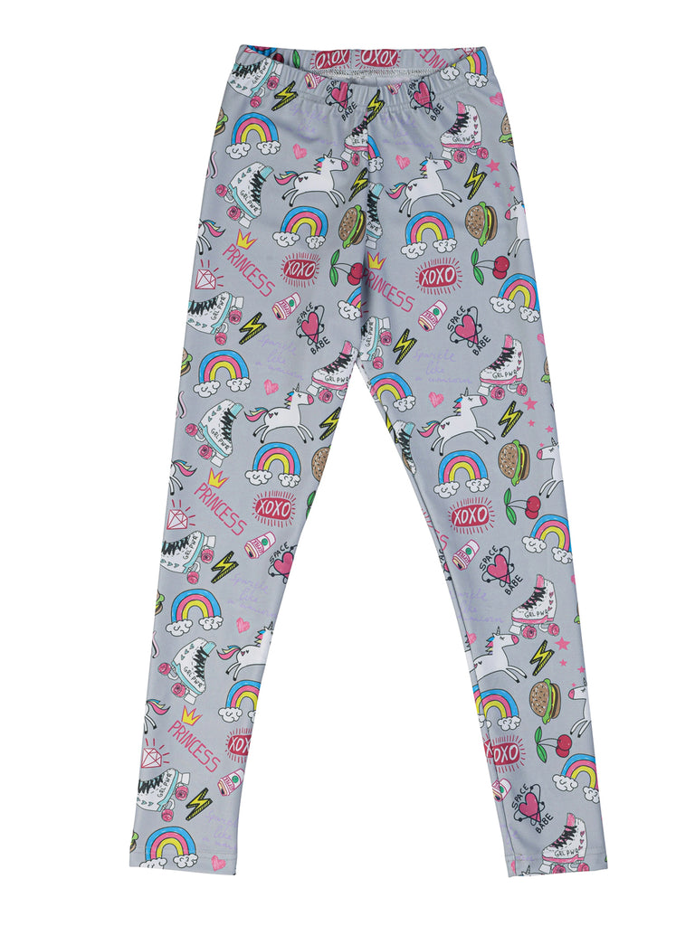 cool girl legging for girl miss flamingo kids