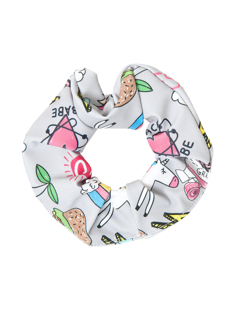 cool girl scrunchies for hair miss flamingo kids
