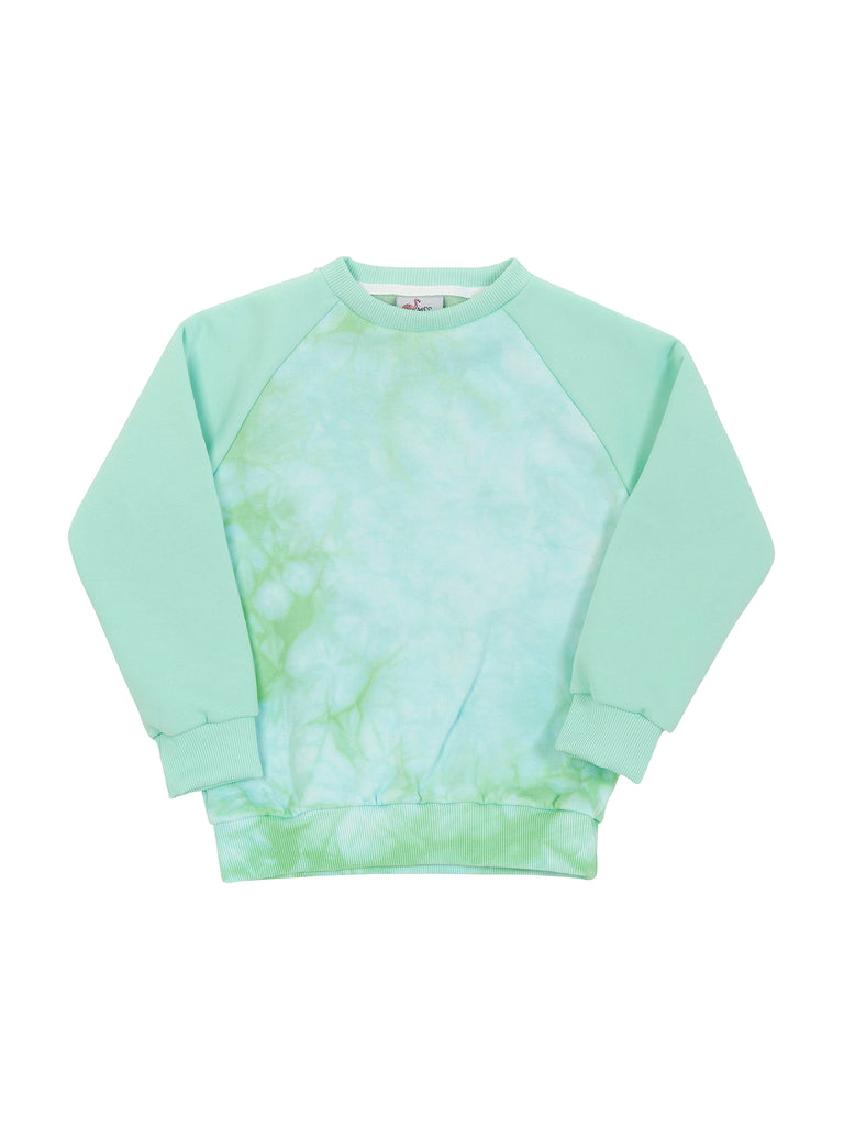 Boy Green Tie Dye SweatShirt
