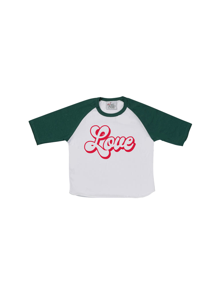 Girl Green Love T-Shirt