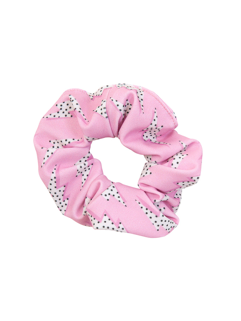 Girl Pink Thunder Scrunchies for Hair
