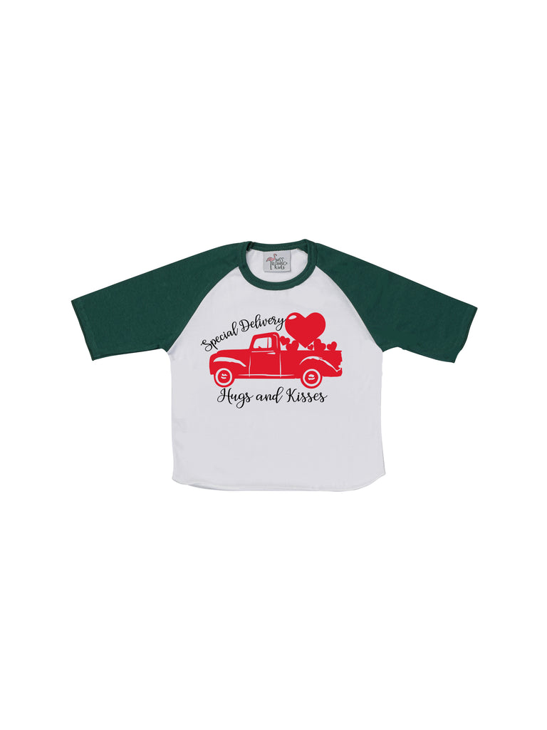Boy Green Special Delivery Valentines T-Shirt