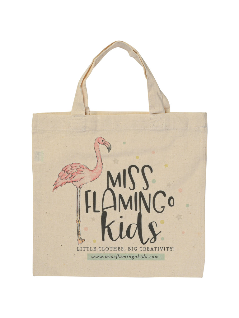 Eco Tote Bag Miss Flamingo Kids - Gift Wrap