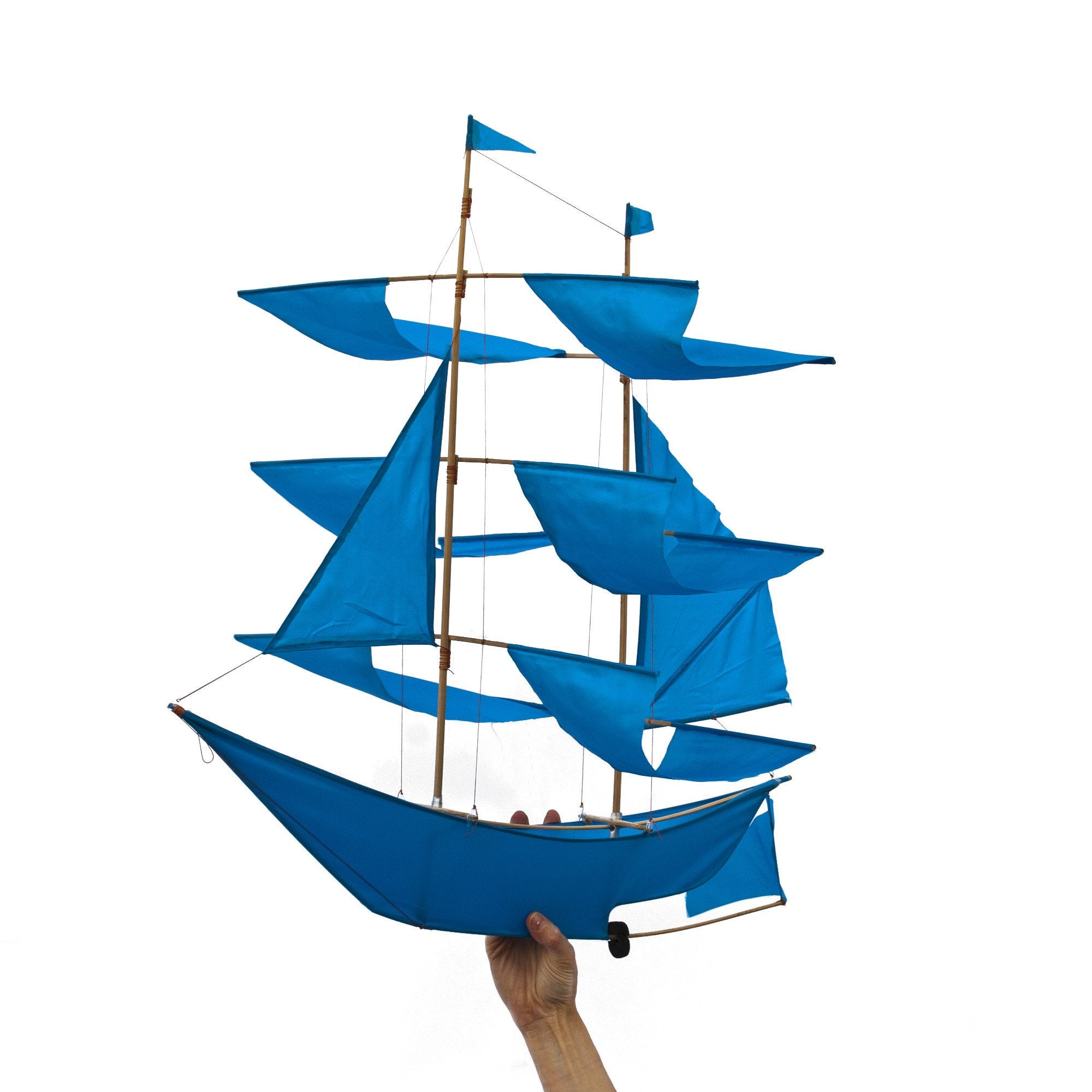 Sailing Ship Kite - Azure