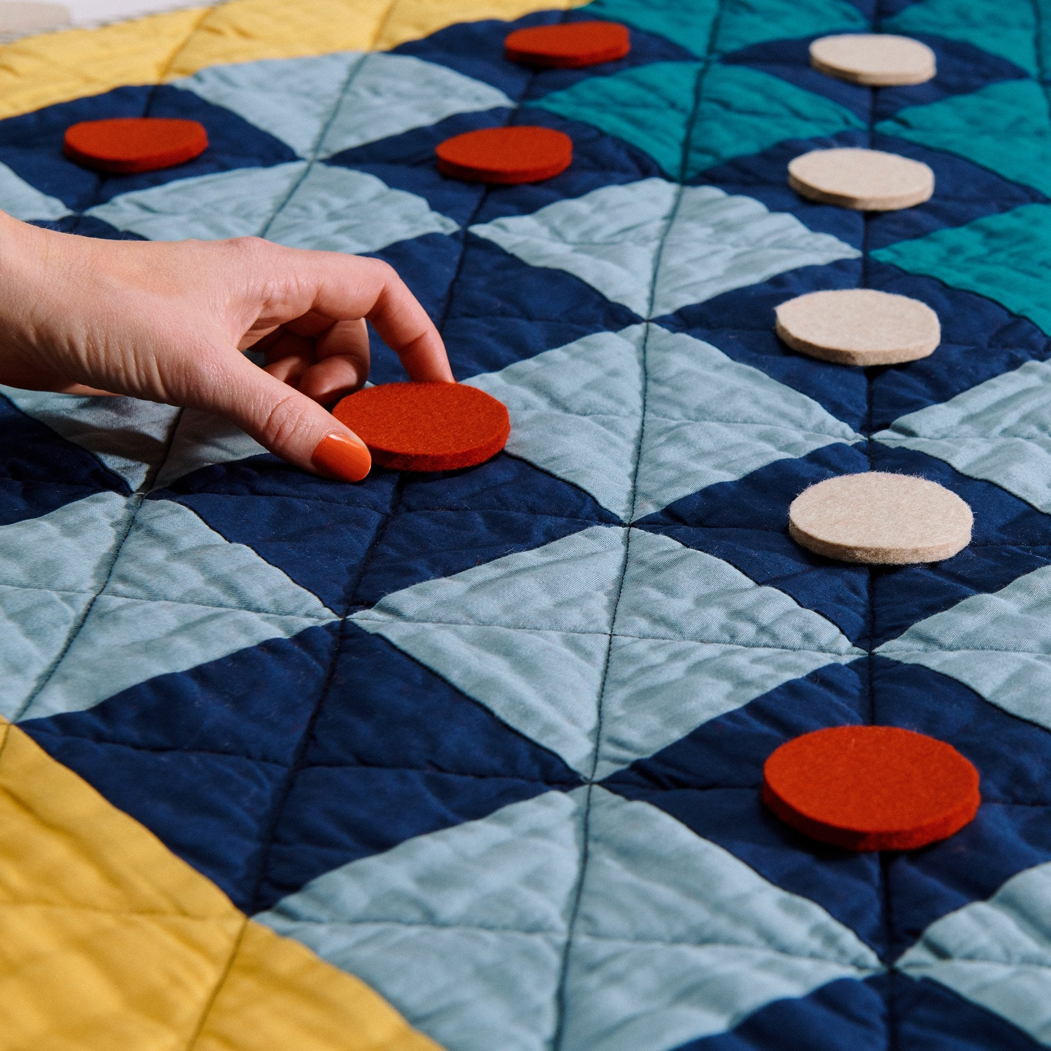 Checkers Game Quilts