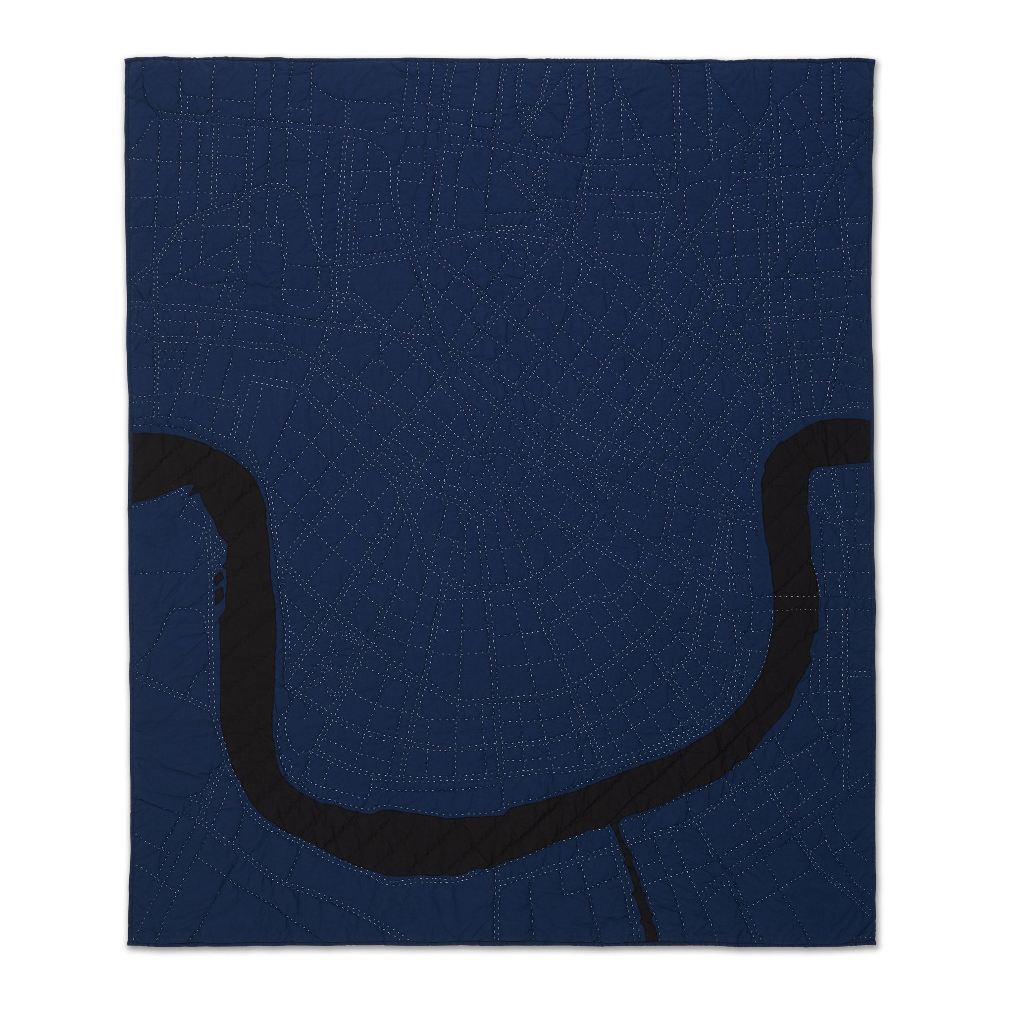 New Orleans Throw / Navy City Quilts