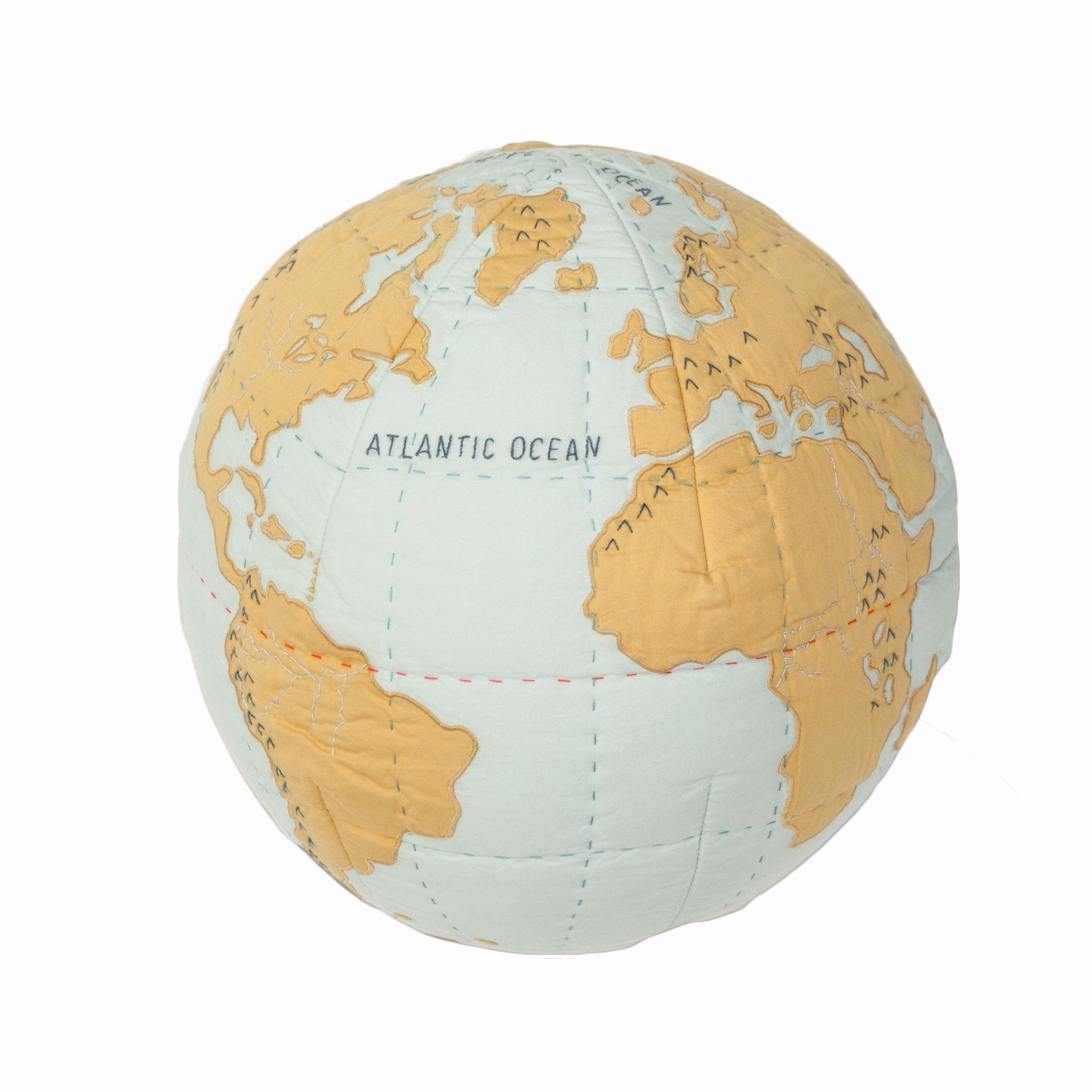 Preorder: Pillow Globe - Blue/Gold