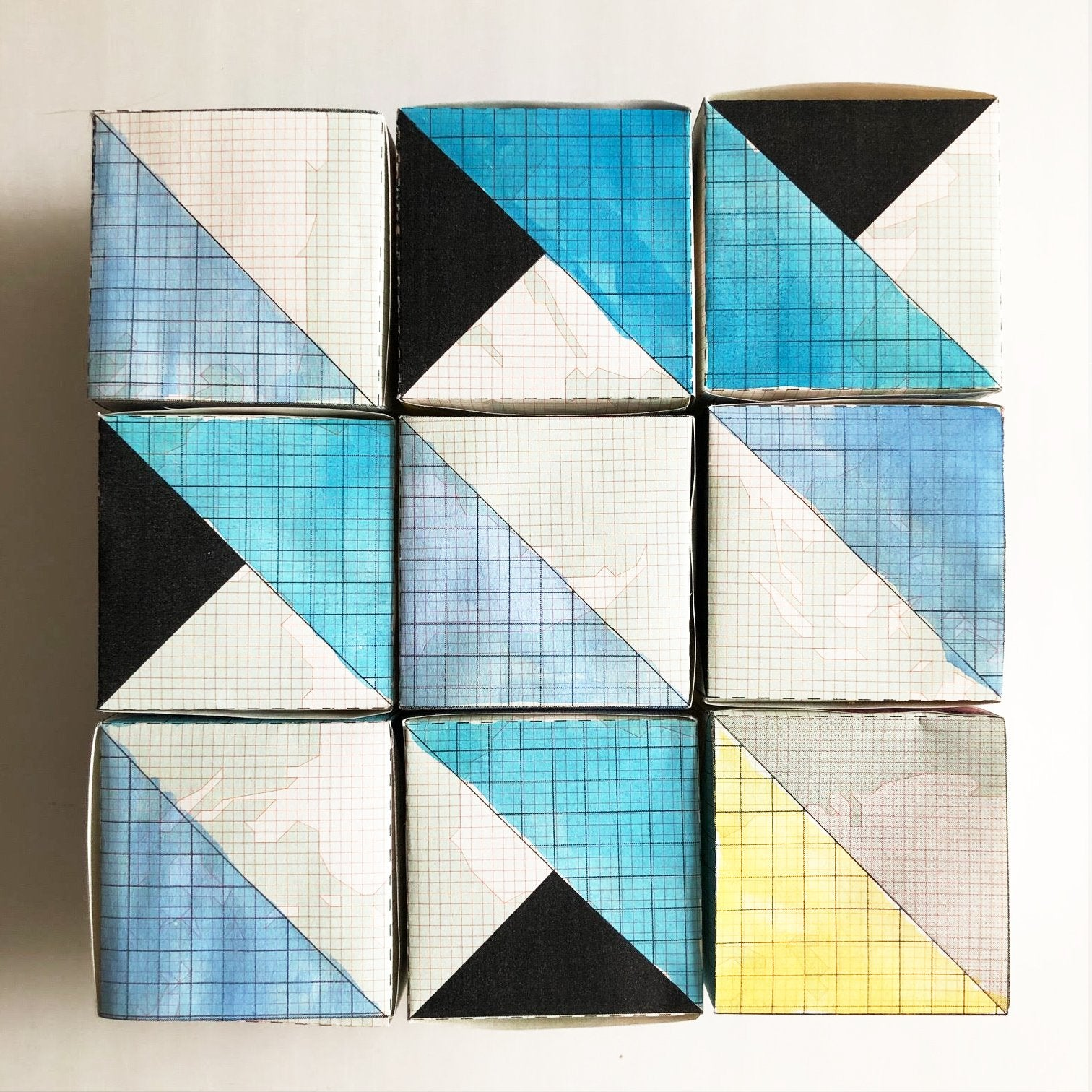 Quilt Block Puzzle: Free Download Diy Kits