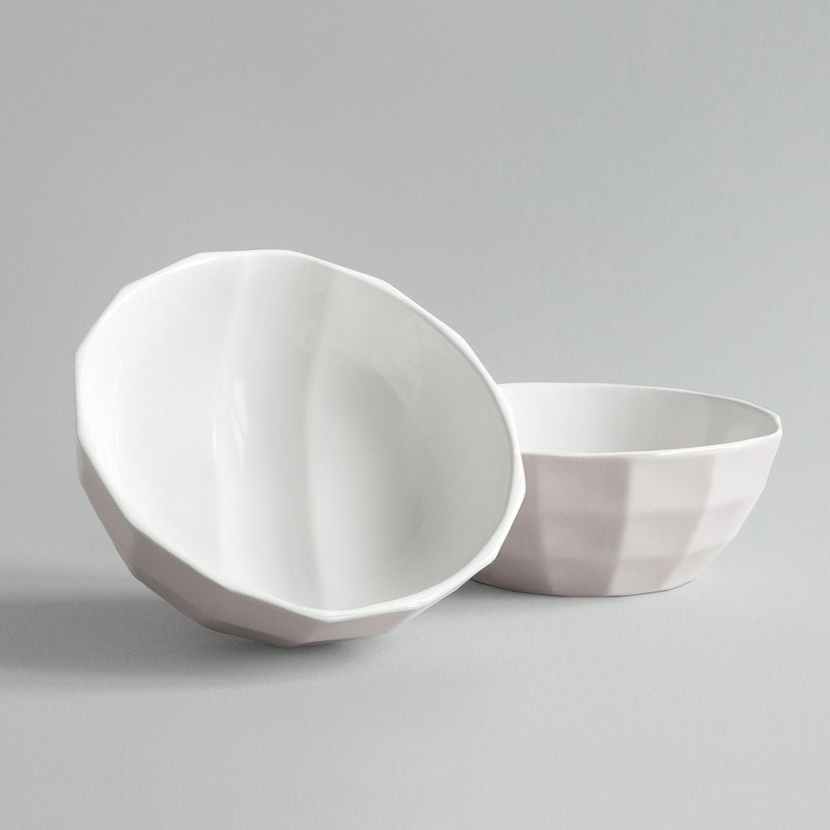 Dual Light Rose & White Channel Bowl + Pairing Spoon