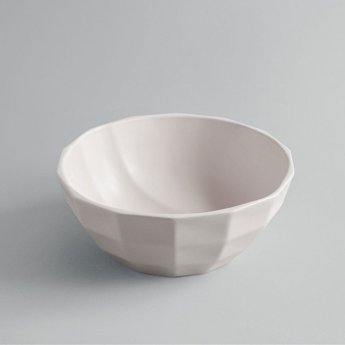 Solid Light Rose Channel Bowl + Pairing Spoon