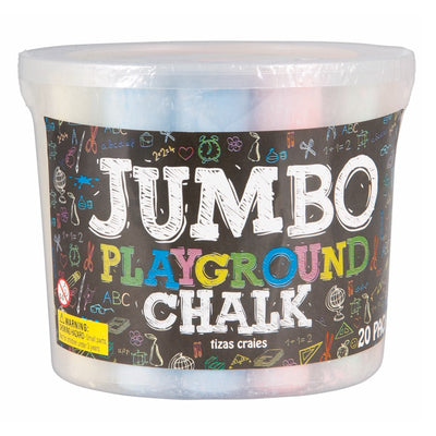 Jumbo Play Chalk 20 piece