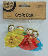 PK/4 CRAFT ANGEL DOLLS