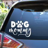 Dog Mommy Vinyl Decal