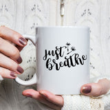 just breathe decal example