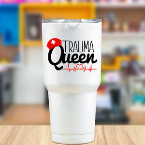Trauma Queen Vinyl Decal for Nurses and EMTs