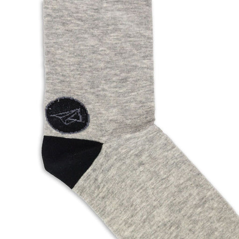 Noma Basic Gris-Colección-Basicos-Calcetines-Algodón-Noma Outfitters
