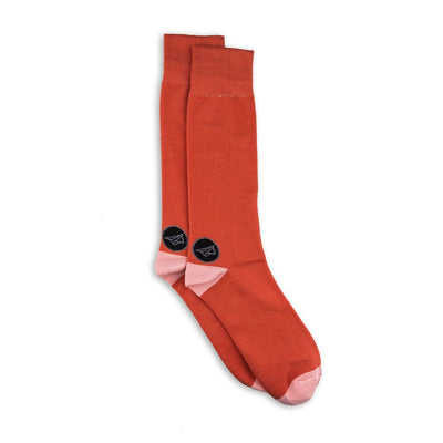 Noma Basic Naranja-Colección-Basicos-Calcetines-Algodón-Noma Outfitters
