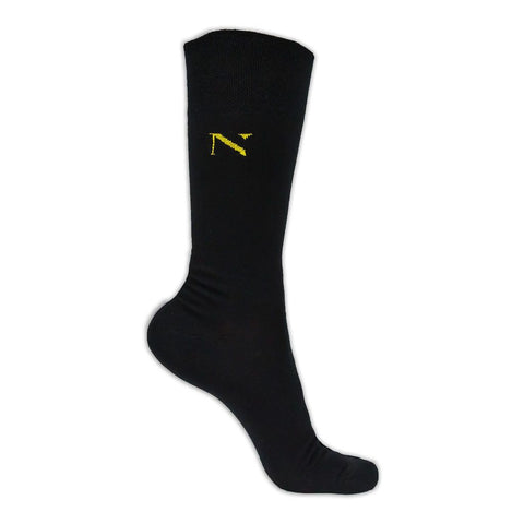 Noma Gold Black-Colección-Basicos-Calcetines-Algodón-Noma Outfitters