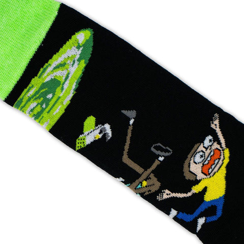 Oh Geez Rick-Colección-Rick and Morty-Adult Swim-Pickle Rick-Calcetines-Algodón-Noma Outfitters