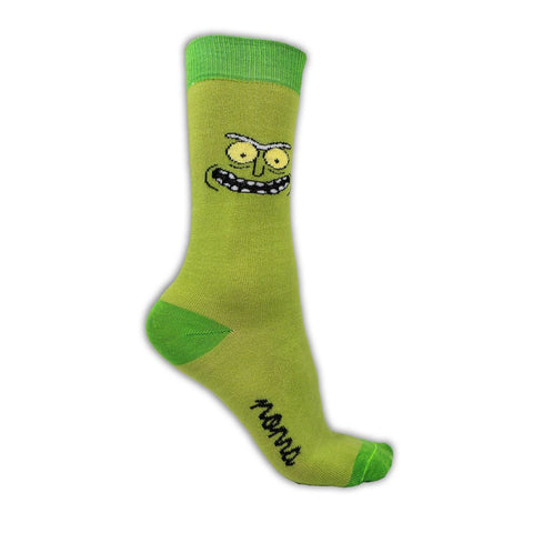 Pickle Rick!-Colección-Rick and Morty-Adult Swim-Pickle Rick-Calcetines-Algodón-Noma Outfitters