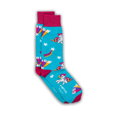 Unicorns Exist - Blue-Colección-My Little Pony-Hasbro-Calcetines-Algodón-Noma Outfitters