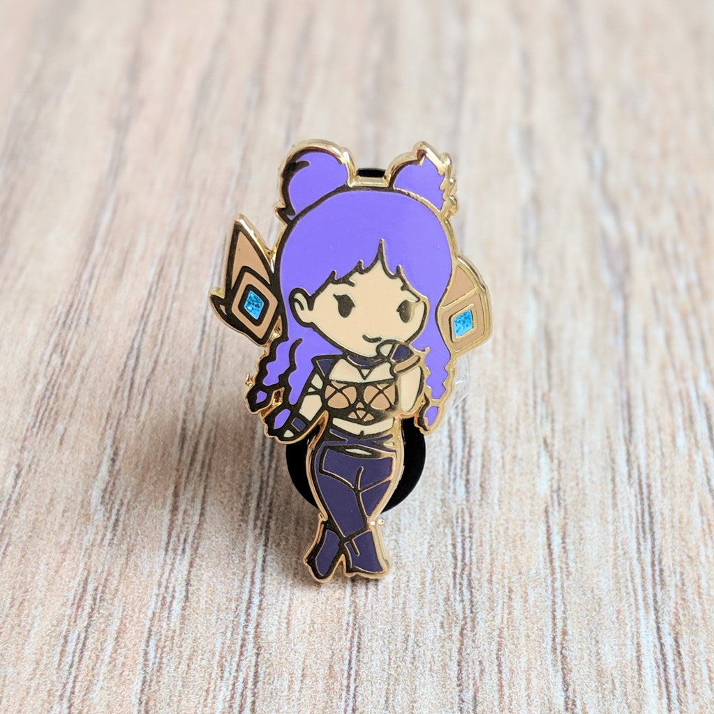 K/DA POP/STAR Kai'Sa Enamel Pin