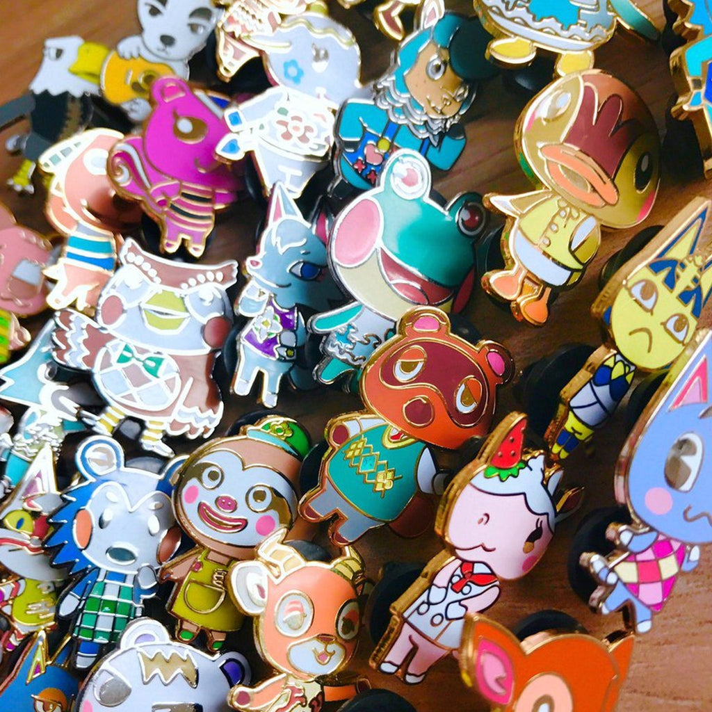 Animal Crossing Hard Enamel Pin Collection