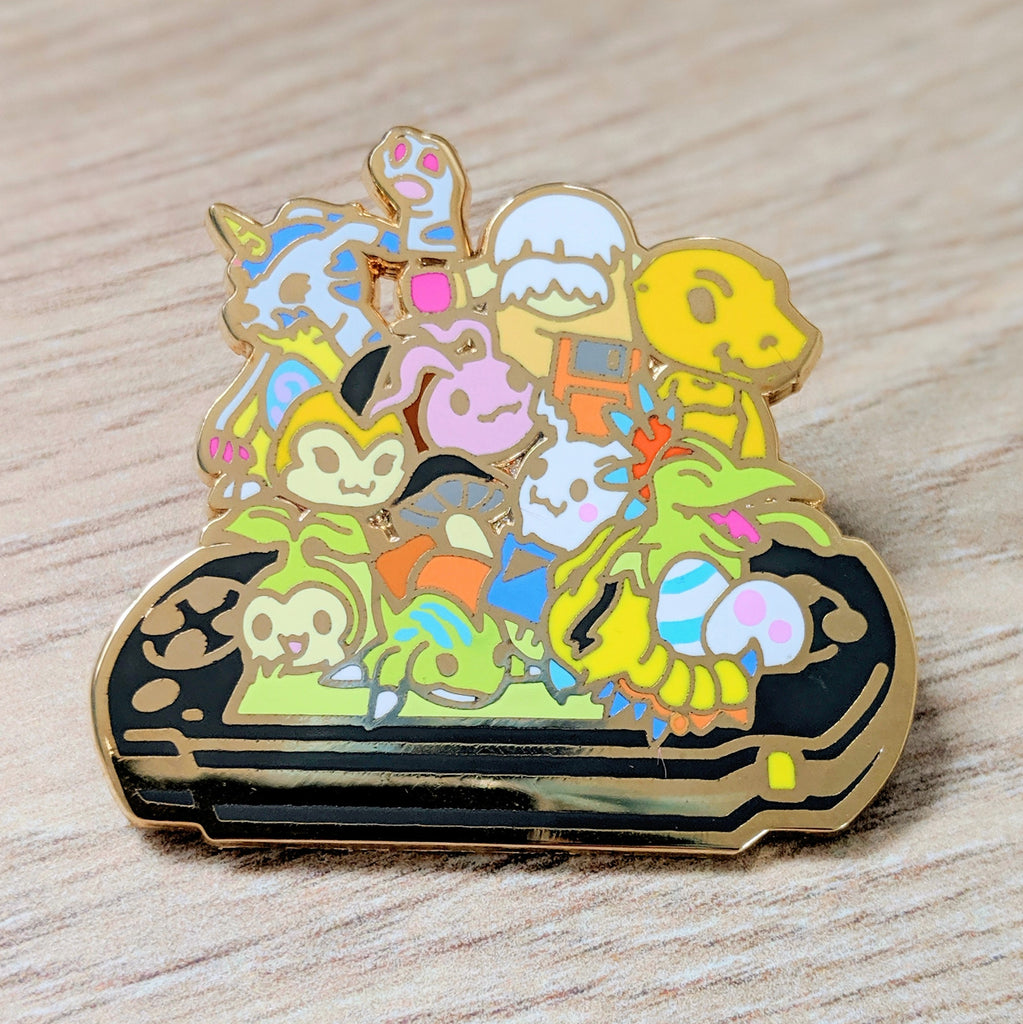 Digimon World PSP Enamel Pin