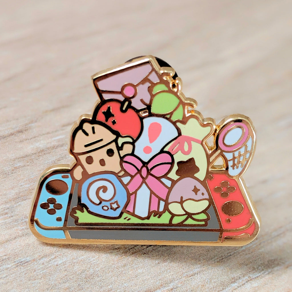 Animal Crossing New Horizons Hard Enamel Pin
