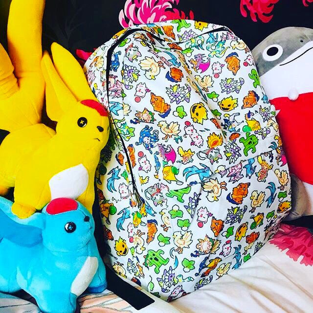 Final Fantasy Monsters & Summons Backpack