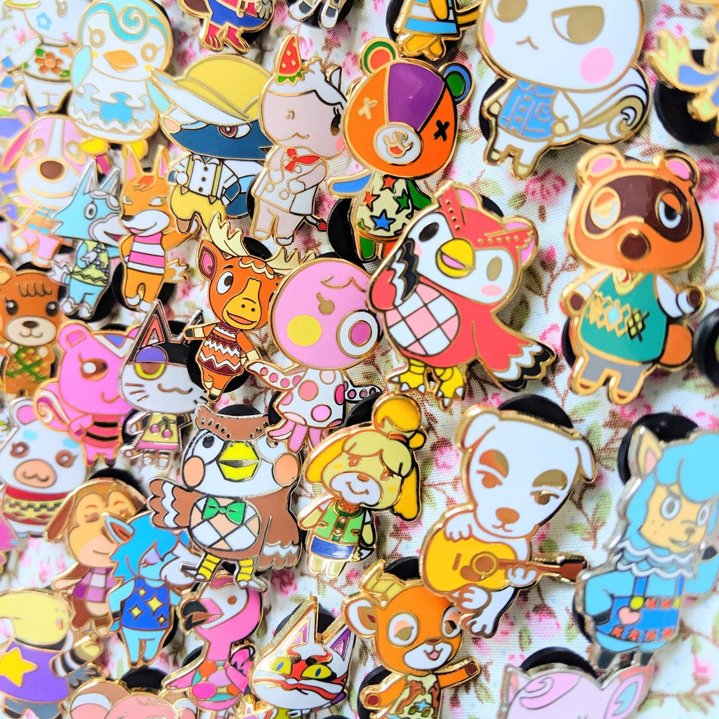 CLEARANCE Cutie Crossing Enamel Pin Collection