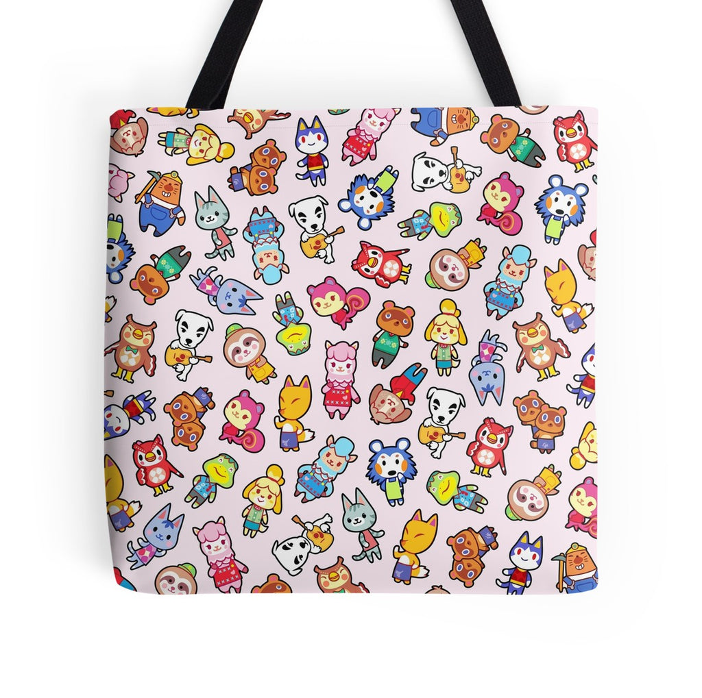 Cutie Crossing Tote Bag
