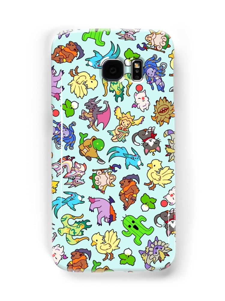 Final Fantasy Monsters & Summons Phone Case