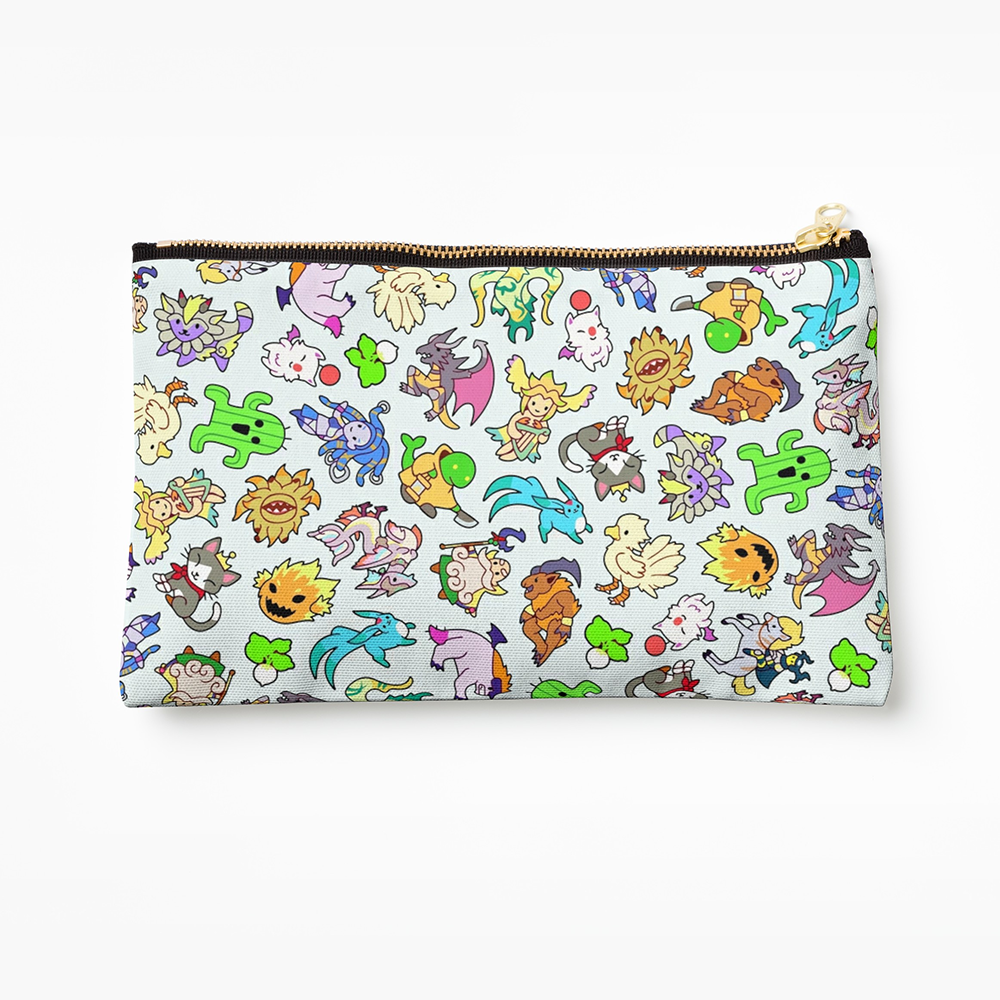 Final Fantasy Monsters & Summons Pencil Case