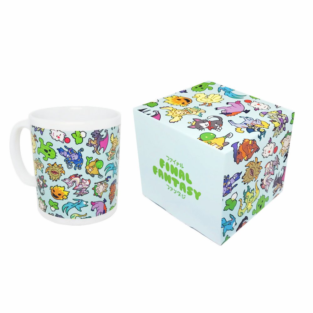 Final Fantasy Monsters & Summons Mug & Box Set