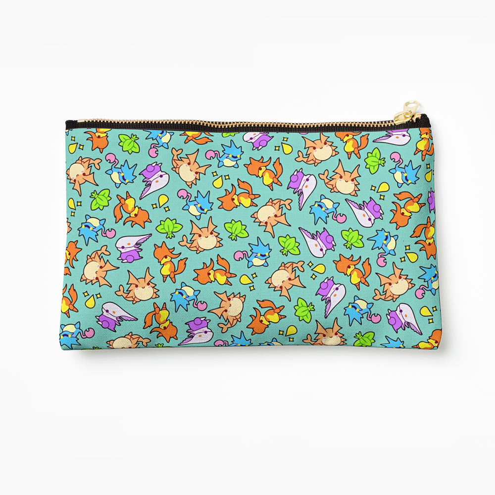 Golden Sun Djinn Pencil Case