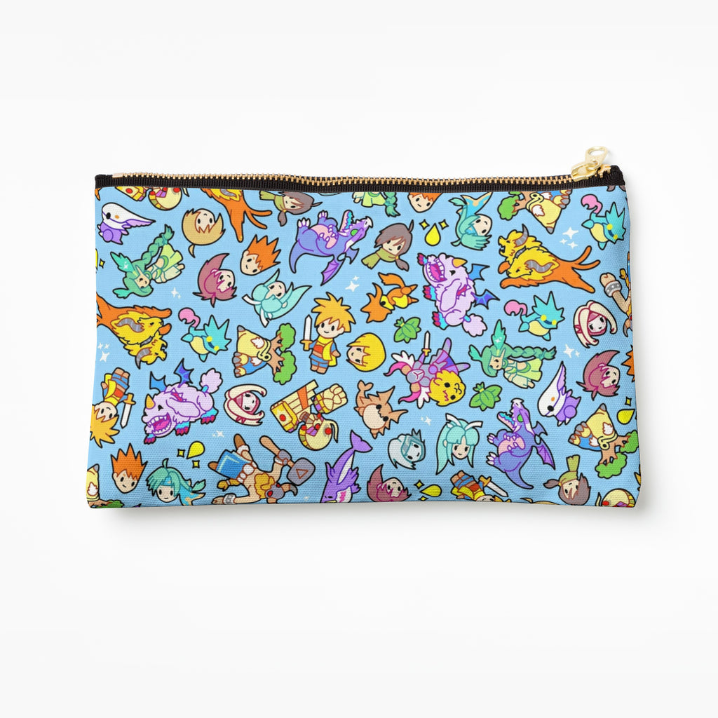 Golden Sun Pencil Case