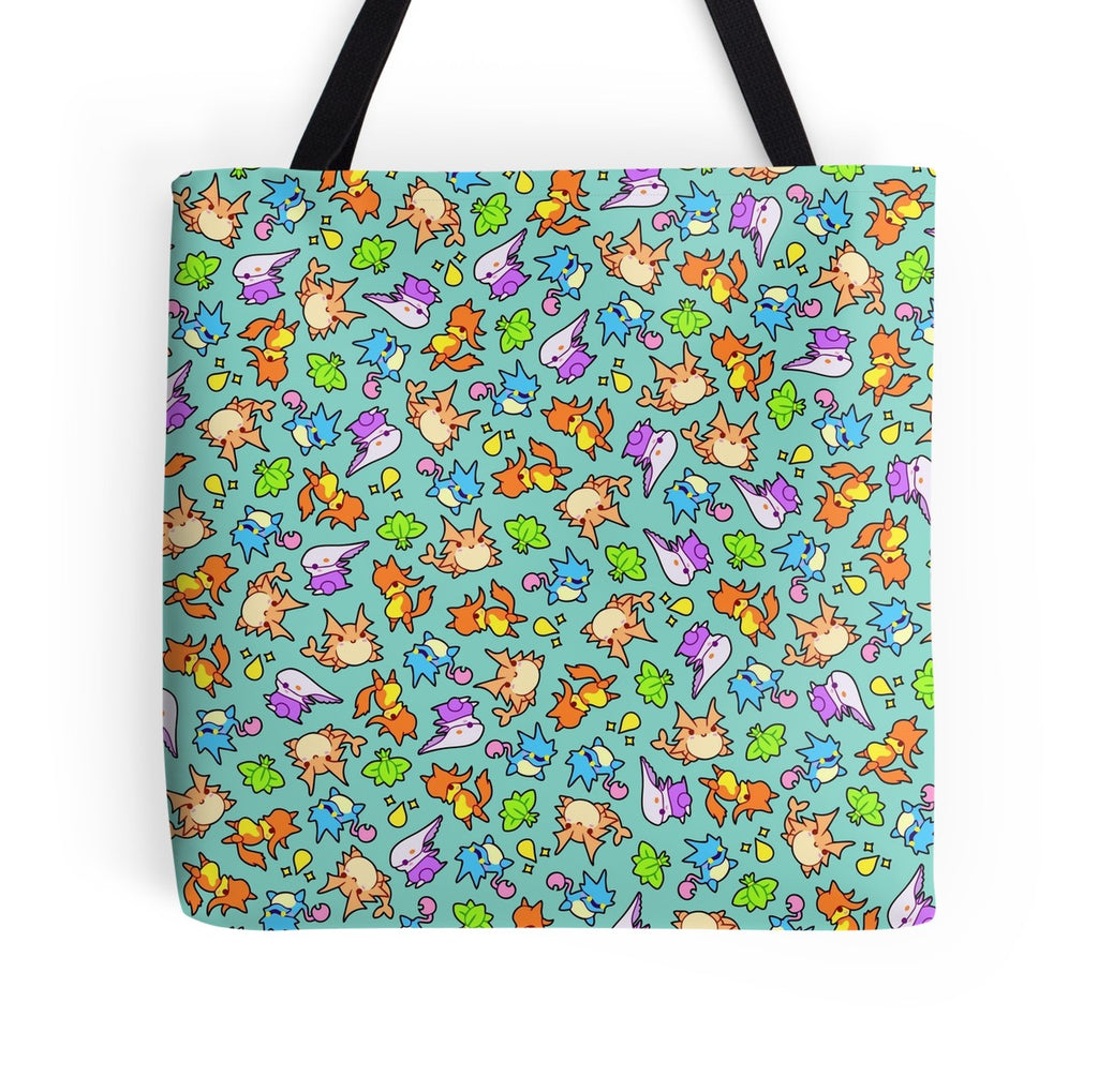 Golden Sun Djinn Tote Bag
