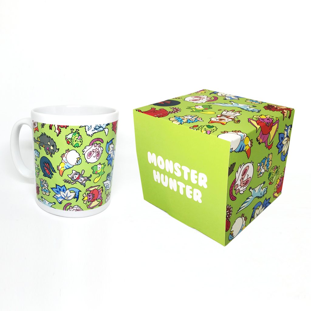 Monster Hunter Mug & Box Set