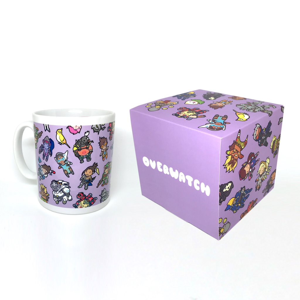 Overwatch Mug & Box Set