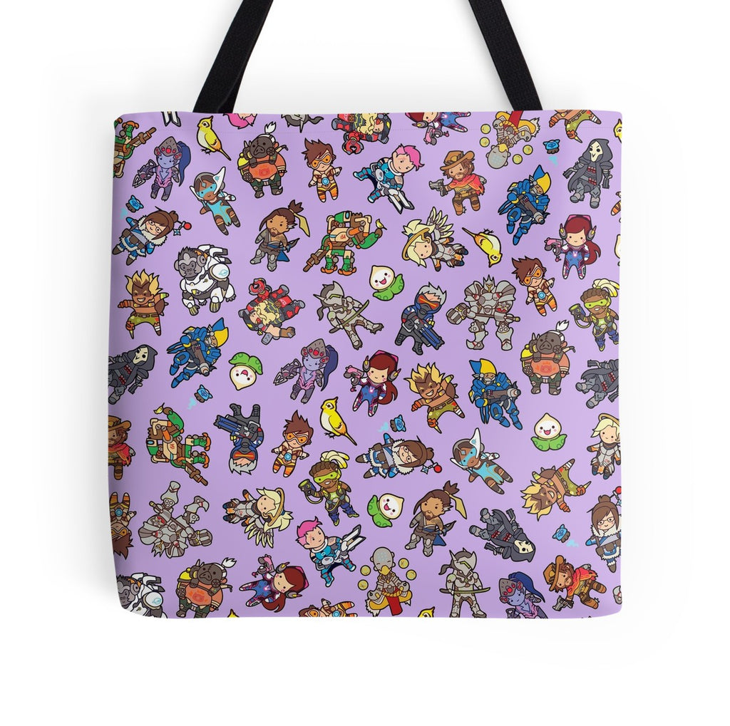 Chibiwatch Tote Bag
