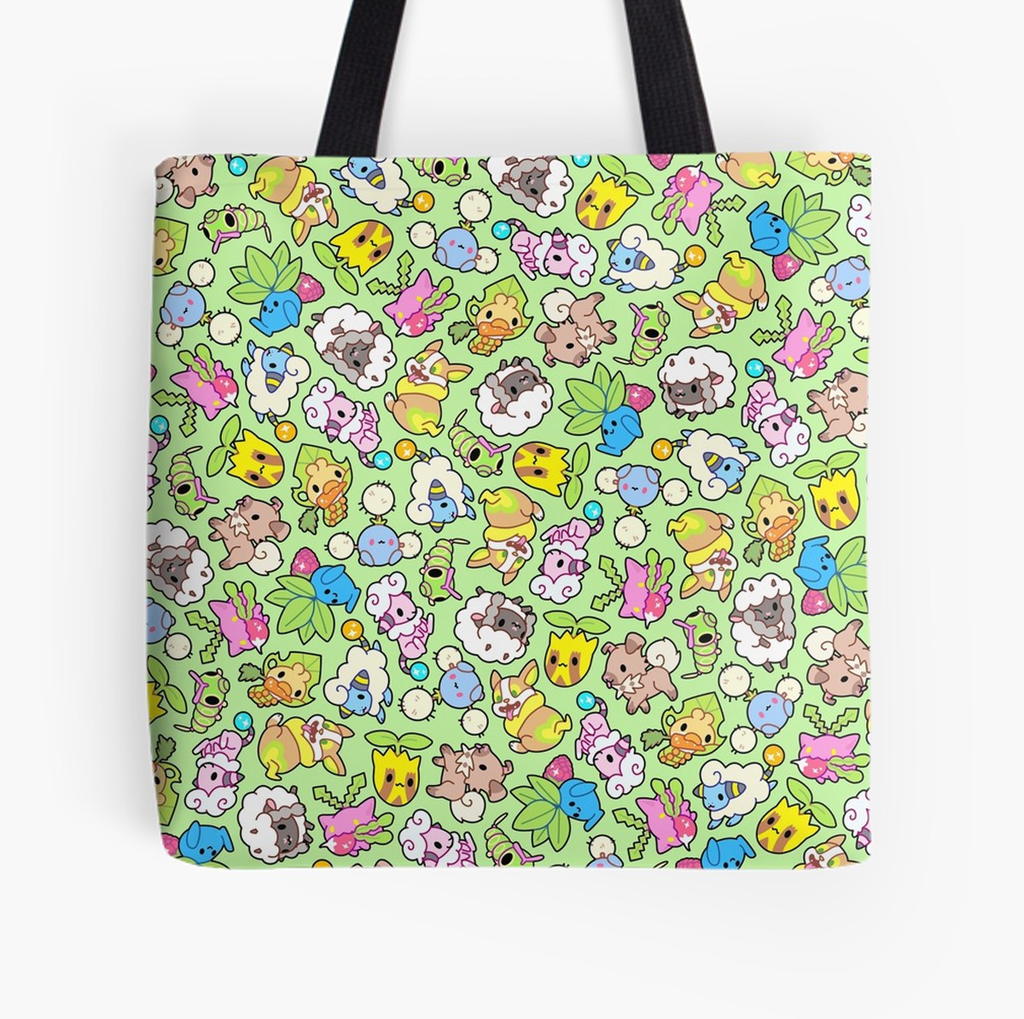 Pokefarm Tote Bag