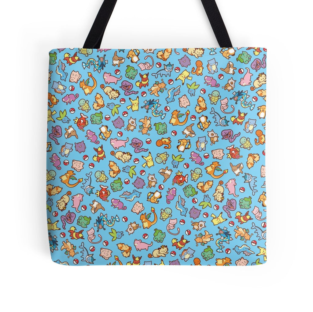 Pokecuties Tote Bag