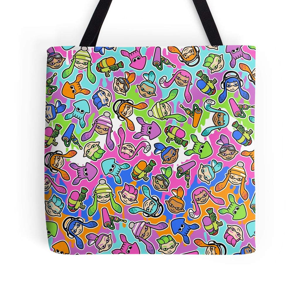 Splatoon Tote Bag