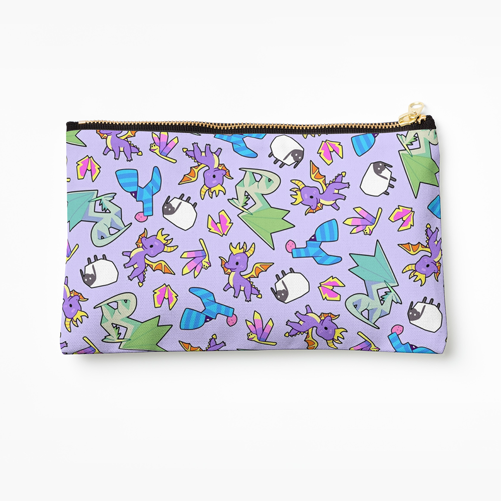 Cute Dragon Pencil Case