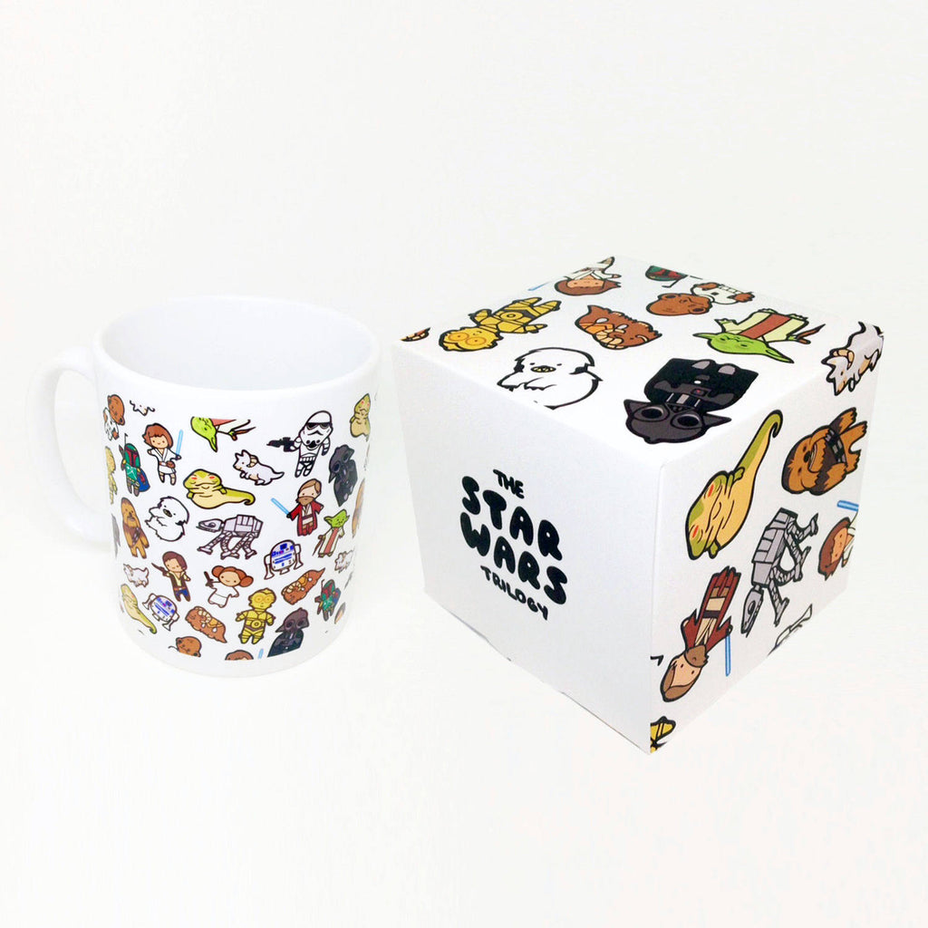 Chibi Wars Mug & Box Set