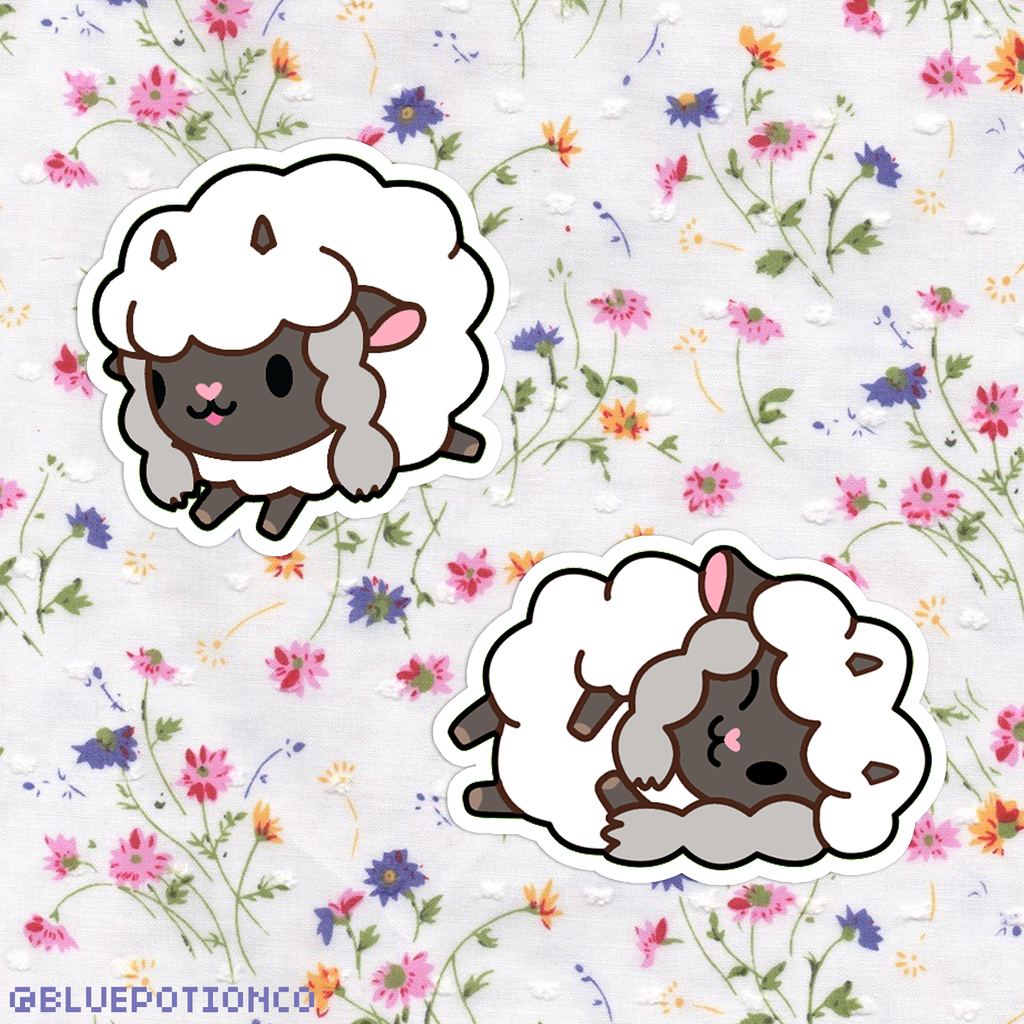 Wooloo Sticker Set