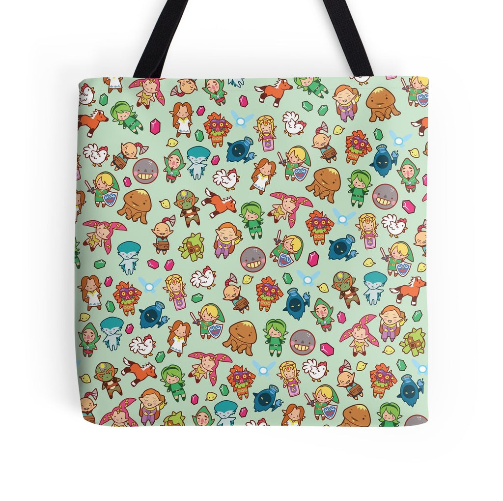 Legend of Cute Tote Bag