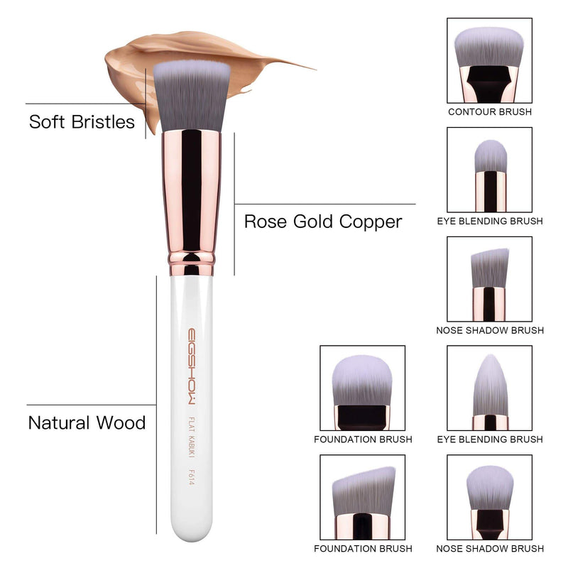 Eigshow Beauty 8 PCS SCULPT AND BLEND BRUSH KIT - ROSE GOLD